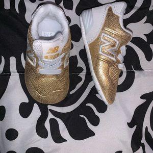 Infant Gold New Balance